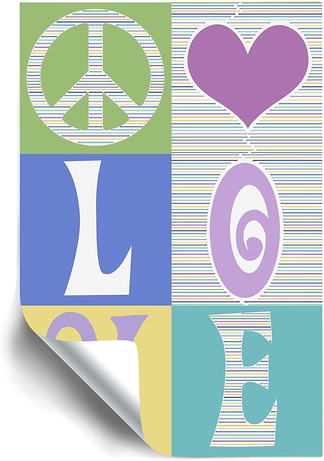 ArtWall All You Need Jacksonville Max 82% OFF Mall Teal Wall 32x48 Removable Art Mural
