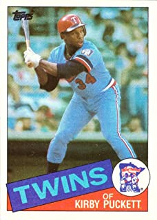 kirby puckett topps rookie card