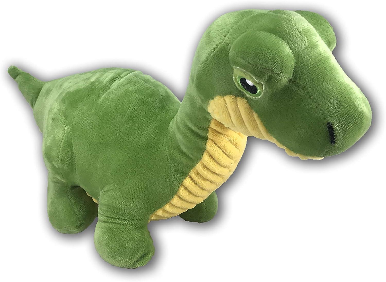 Kellytoy Dinosaur 11  Plush Animal Toy (Green)