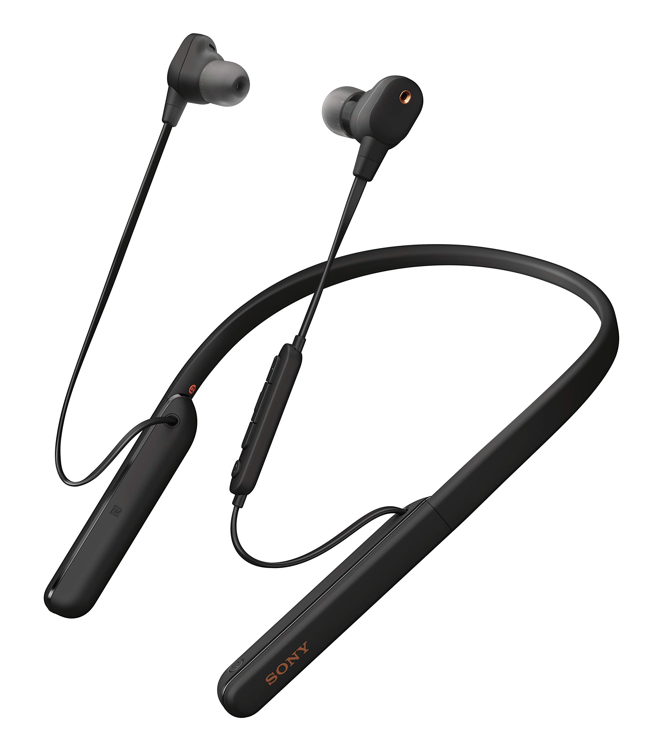 Amazon Com Sony Wi 1000xm2 Industry Leading Noise Canceling Wireless Behind Neck In Ear Headset Headphones With Mic For Phone Call With Alexa Voice Control Black Electronics