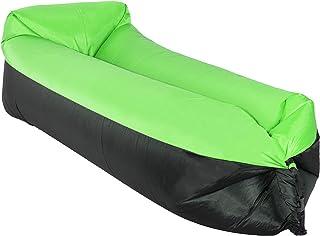 SPRINGOS Lazy Bag - Sofá hinchable hinchable para playa, camping, playa, piscina, tumbona al aire libre y resistente al agua