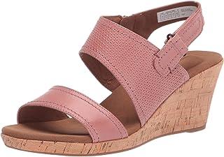 Rockport Briah Asym 2 Piece womens Heeled Sandal