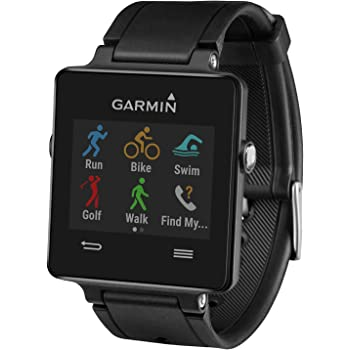 Garmin Vivoactive Black (Renewed)