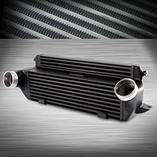 Front Mount Aluminum Turbo Intercooler Kit For BMW E82 E88 135i 1M E90 E91 E92 335i E89 Z4 Black