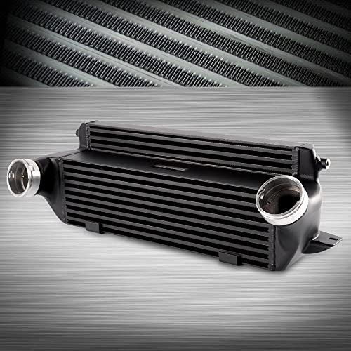 Amazon com: Front Mount Aluminum Turbo Intercooler Kit For