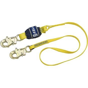 Clow Rope Lanyard with Snap Hook /& Carabiner 7m