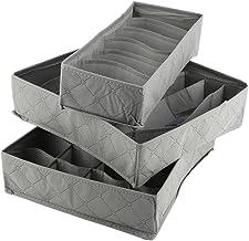 Fdit Organizer pudełko do przechowywania kratka szafa pyłoszczelne pokrywki zmywalny biustonosz szafka szafki szafki spodn...