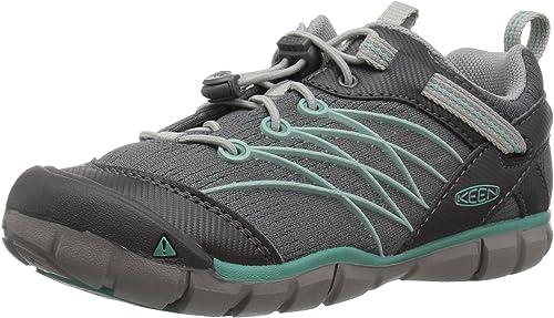 KEEN Chandler CNX Hiking chaussures, Steel gris Wasabi, 5 M US