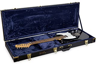 Best Crossrock Wooden Case Fits Fender Telecaster and Stratocaster Electric Guitars,Black (CRW620EBK) Reviews
