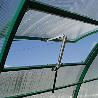 greenhouse solar powered automatic window vent opener