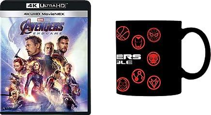 【Amazon.co.jp限定】アベンジャーズ/エンドゲーム 4K UHD MovieNEX [4K ULTRA HD+3D+ブルーレイ+デジタルコピー+MovieNEXワールド](オリジナルマグカップ付き) [Blu-ray]