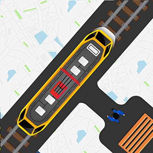 Pick Me Tram Taxi Driver - City Metro Train Driving