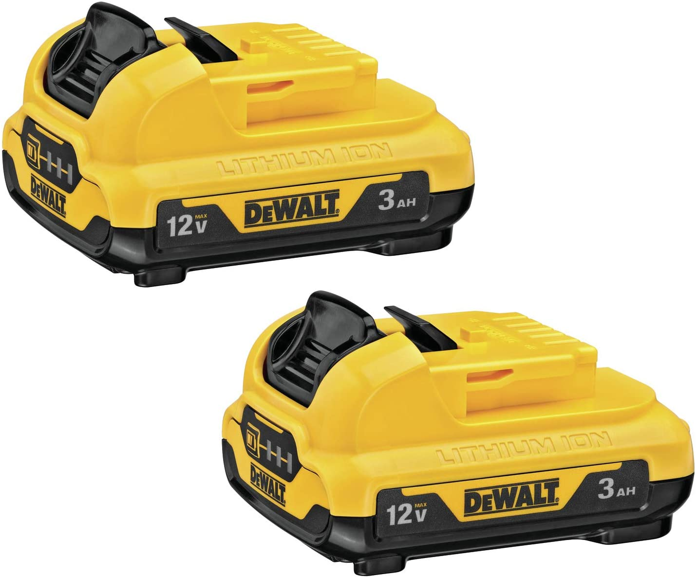 DEWALT wholesale 12V MAX Batteries 2-Pack DCB124-2 3.0-Ah 2021new shipping free shipping