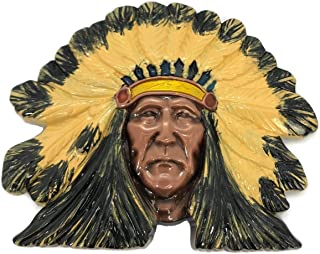 OEM Wolverine Native Indian Chief Head Belt Buckle Replica, Mix, One Size