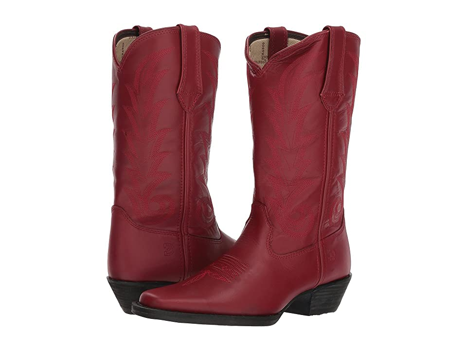 Durango Western 11 Narrow Square Toe (Scarlet Red) Cowboy Boots