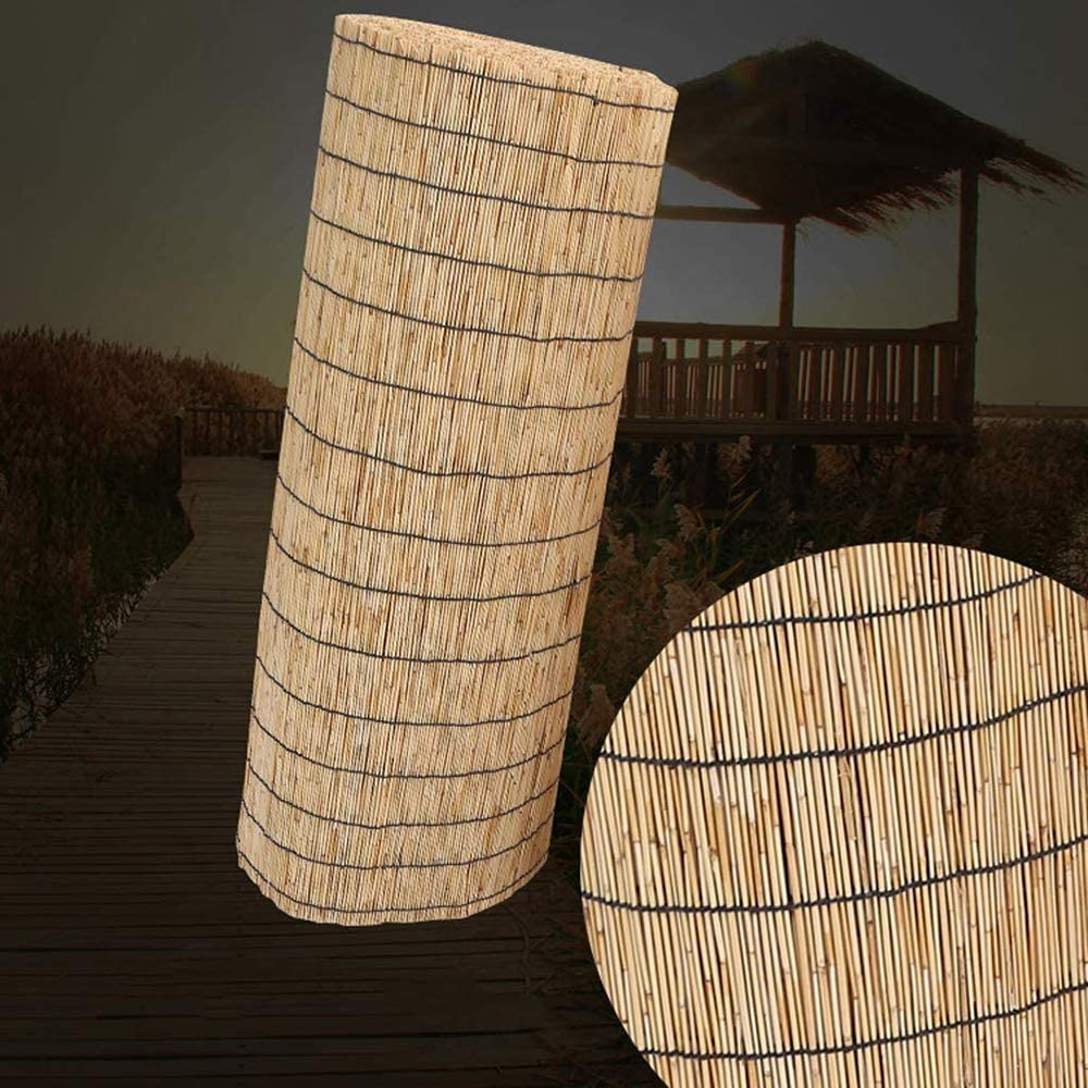 LHJDM Bamboo Curtain -Natural SEAL限定商品 Roll Up Blind 実物 Sunsha Window
