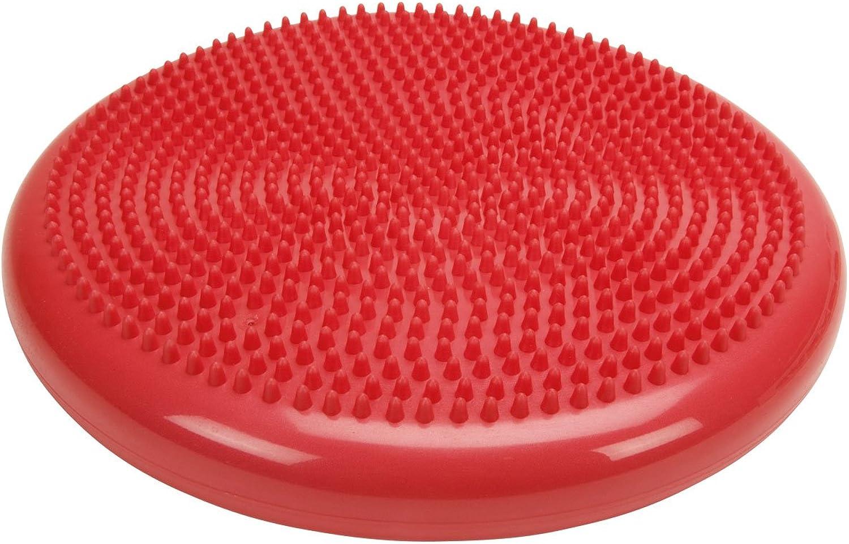 Cando 301870R Red Inflatable Vestibular Disc, 1351 64  Diameter, 300 lbs Weight Capacity