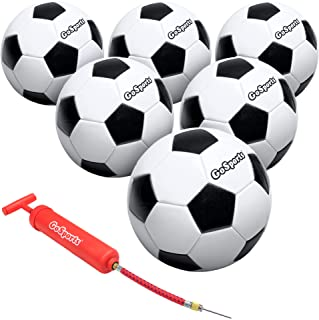 GoSports Classic Soccer Ball with Premium Pump, Available...
