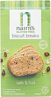 Nairn's Gluten Free Biscuit Breaks, Oats & Fruits - 160 gm