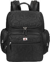 EGOGO Black Multifunction Mummy Bag Baby Nappy Changing Bag Backpack Diaper Bag Rucksack E304-1 (Black)