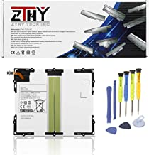 ZTHY New EB-BT585ABE Tablet Battery for Samsung Galaxy Tab A 10.1 SM-T580(WiFi) SM-T585(3G,4G/LTE &WiFi) SM-P580(WiFi) SM-P585(3G, 4G/LTE & WiFi) SM-T585C SM-T587 SM-T587P EB-BT585ABA 7300mAh