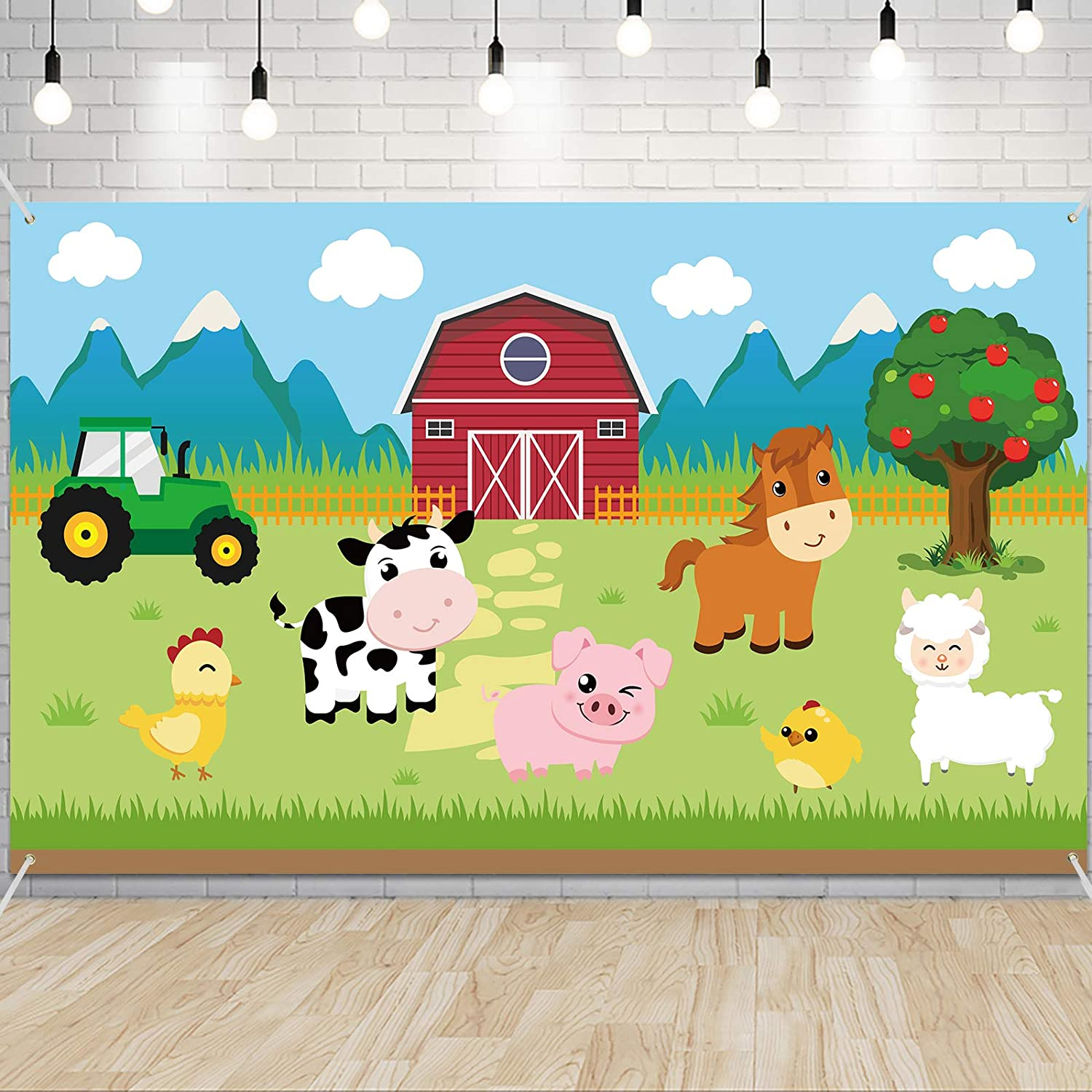 Farm Animals Party Decorations - Barnyard Theme Party Supplies 7