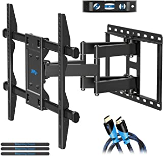 Mounting Dream TV Mount Bracket for 42-70 Inch Flat Screen TVs, Full Motion TV Wall Mounts with Swivel Articulating Dual Arms - Max VESA 600x400mm, 100 LBS Loading, MD2296 (Renewed)