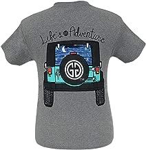 Girlie Girl Originals Life's an Adventure Graphite Heather Short Sleeve T-Shirt