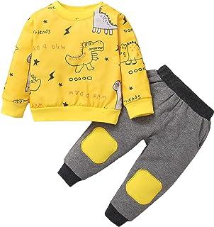 Newborn Infant Baby Boy Clothes Set Little Dinosaur...