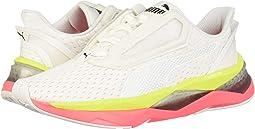 Puma White/Pink Alert