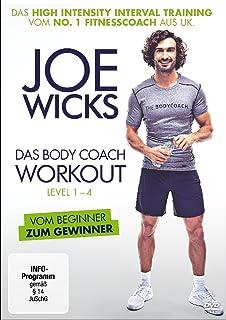 Joe Wicks - Das Body Coach Workout Level 1-4 (HIIT - High Intensity Interval Training)