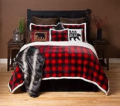 Best buffalo plaid plush bed set Reviews