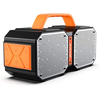 BUGANI Bluetooth Speaker,M83 40W Bluetooth 5.0 Waterproof Outdoor Speaker,2400 Minutes Playtime with Charge Your Phone,for Party,Camping,Gym