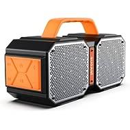 Bluetooth Speakers, Bugani M83 Waterproof Outdoor Speakers Bluetooth 5.0, 40W Wireless Stereo...