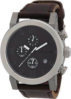NIXON - Reloj para Caballero de Cuero Multicolor