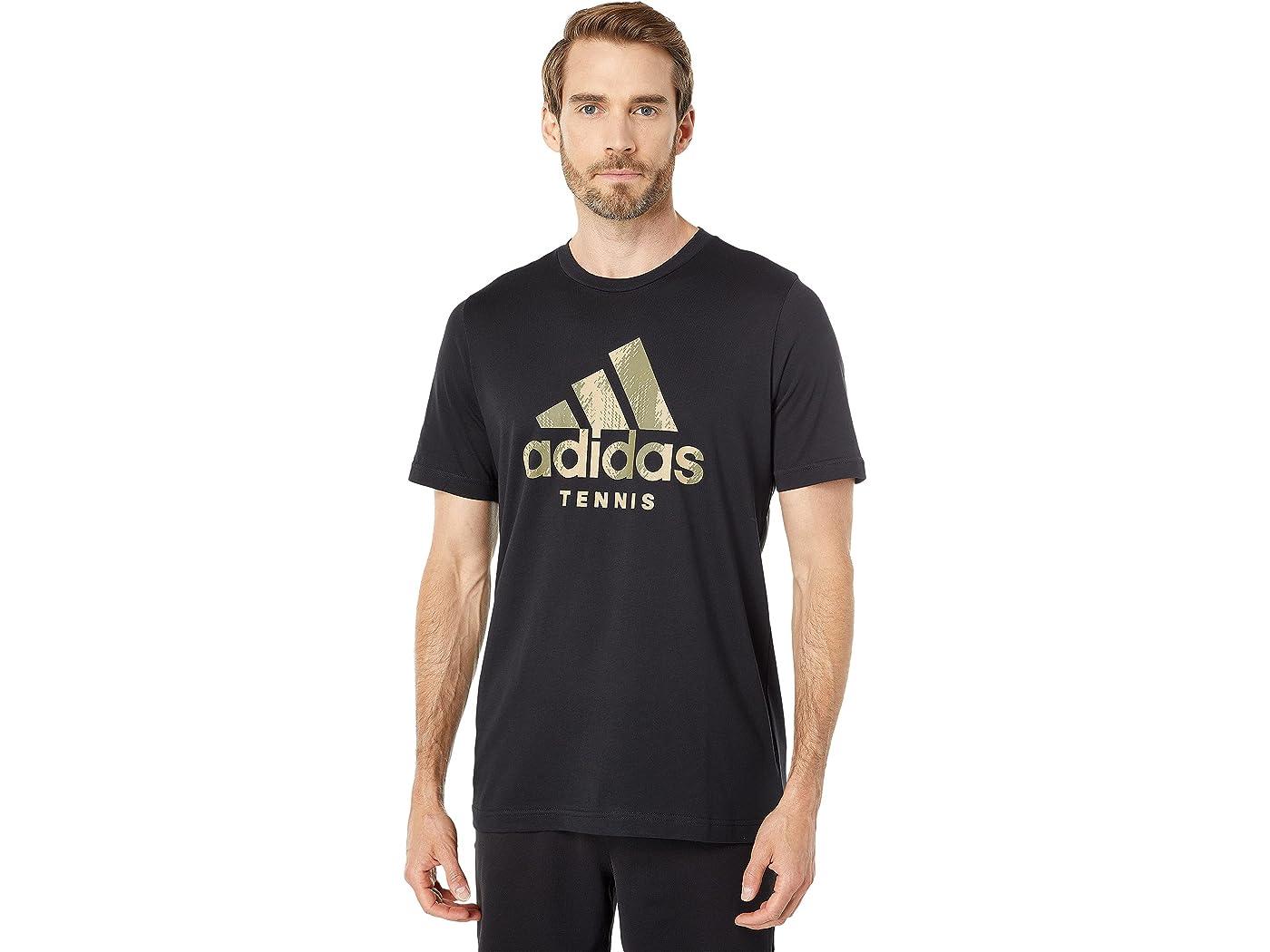 Adidas Tennis Camo Logo Tee