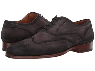 Magnanni Ledger (Grey Suede) Men