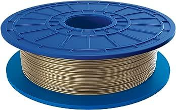 Dremel PLA 3D Printer Filament, 1.75 mm Diameter, 0.5 kg Spool Weight, Gold
