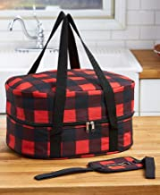 Slow Cooker Carrier - Buffalo Plaid