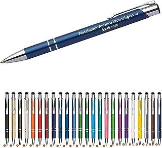 250 Cosima Kugelschreiber aus Metall mit Gravur Neu & alle mit gleicher Wunschgravur WPRO