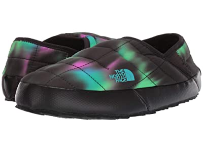 The North Face Thermoball Traction Mule V (Northern Lights Print/TNF Black) Women