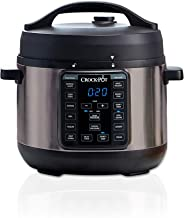 Crock-Pot 4-Quart Multi-Use MINI Express Crock Programmable Slow Cooker and Pressure Cooker with Manual Pressure, Boil & S...