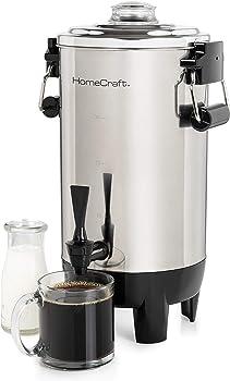 Homecraft 30-Cup Quick-Brewing 1000-Watt Automatic Coffee Urn