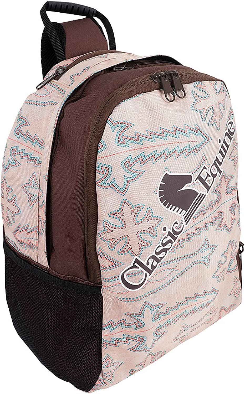 CLASSIC EQUINE IPAD SMARTBOOK MACKBOOK KEYBOARD BACK PACK BAG BOOT STITCH