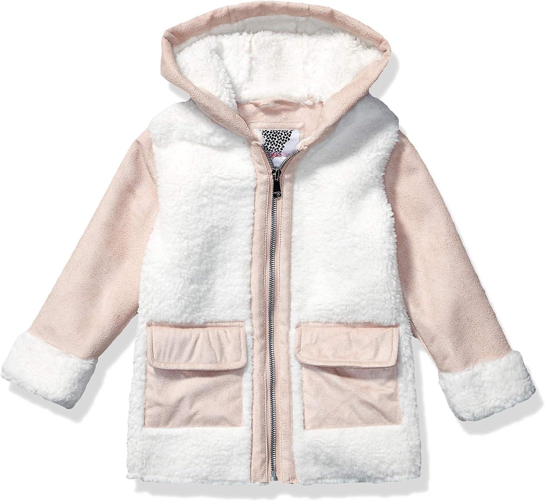 Kensie Girls Outerwear Girls Little Faux Suede Bomber Jacket