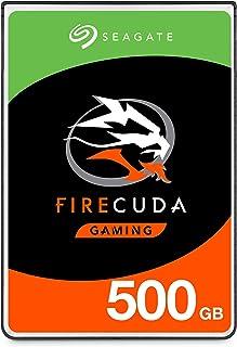 Seagate FireCuda 500 گیگابایتی عملکرد جامد هیبریدی حالت جامد SSHD - 2.5 اینچ SATA 6Gb / s Flash برای لپ تاپ گیمینگ PC شتاب - بسته بندی رایگان ناامیدی (ST500LX025)