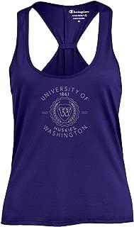 Champion NCAA Womens NCAA Women's Swing Silouette Racer Back Tank Top