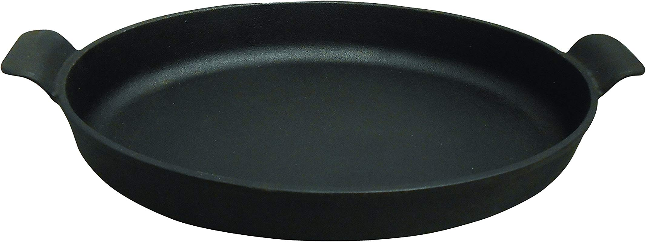King Kooker CIOR14S Pre Seasoned Cast Iron Oval Roasting Pan