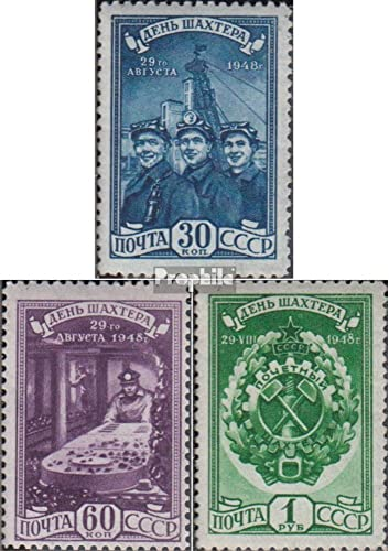 contador genuino Prophila Collection Unión Soviética 1236-1238 (Completa.edición.) 1948 Minegros (Sellos (Sellos (Sellos para los coleccionistas)  a la venta
