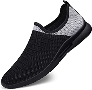 FUJEAK Men Road Running Shoes Breathable Sports Sneakers for Walking